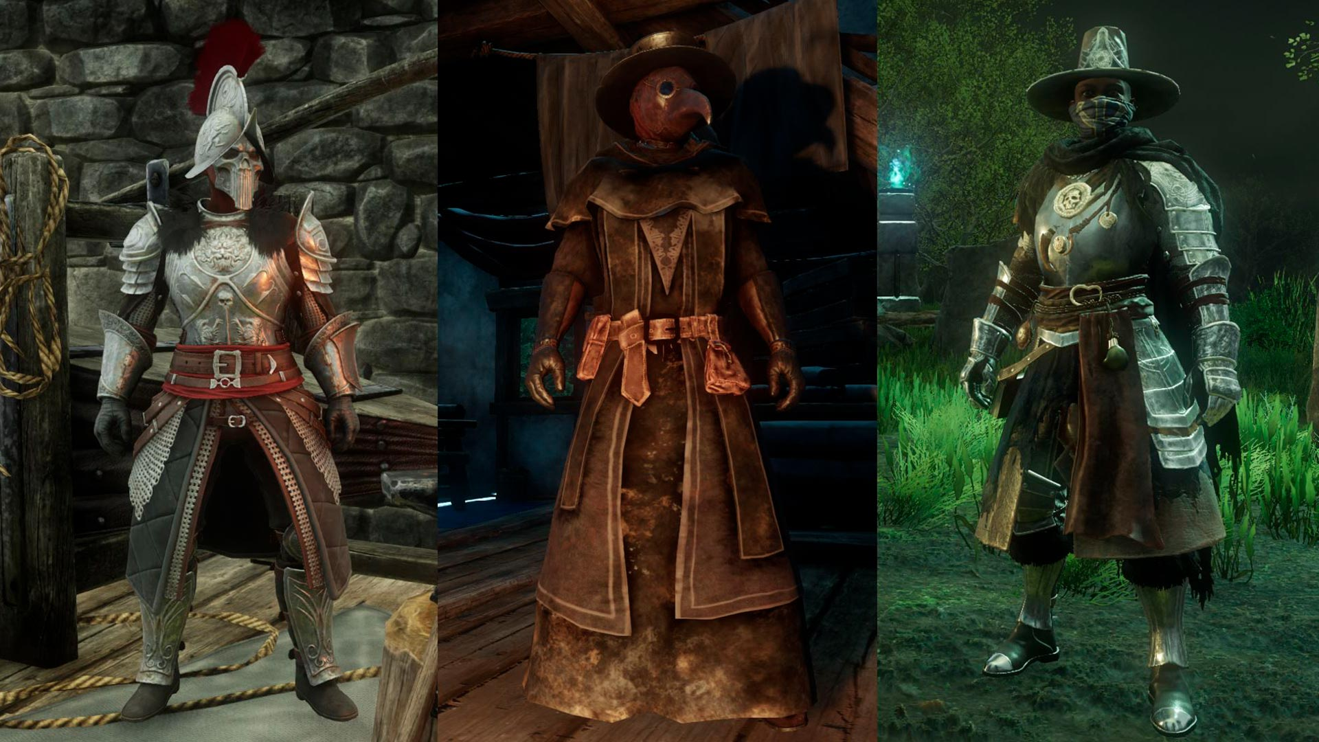 New World MMO 3 Factions, Marauders, Covenant and Syndicate