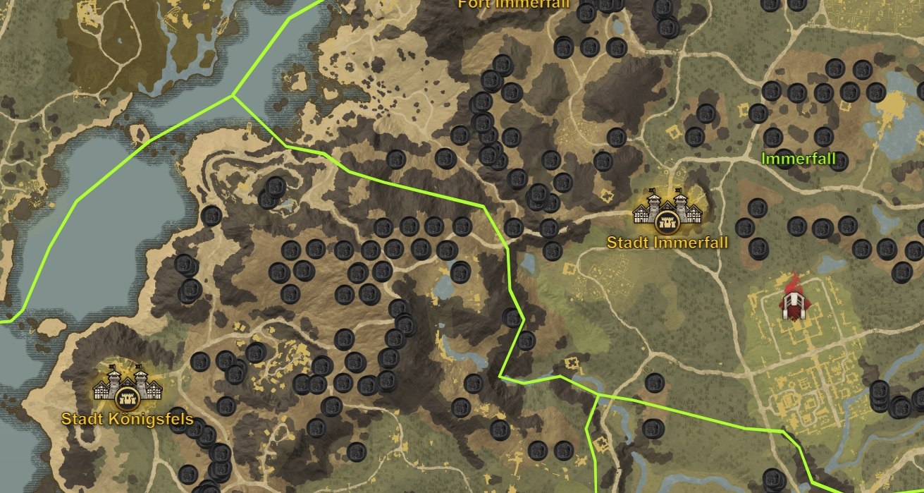 How to Find and Farming New World Iron Ore?